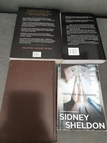 Lote de livros escritor Sidney Sheldon - Foto 2