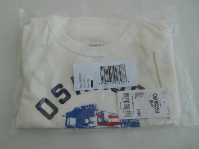 Kit 6 camisas da marca Carter,s e oshkosh - Foto 5