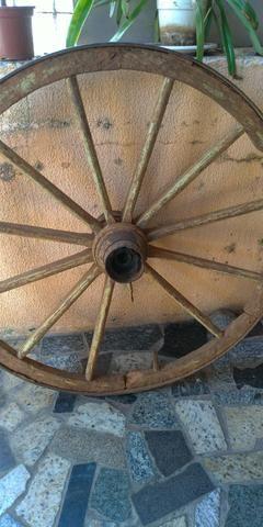 3 rodas de carroça - Foto 2
