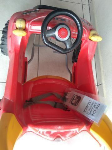 Carrinho passeio Smart com pedal/base - Bandeirantes - Foto 5