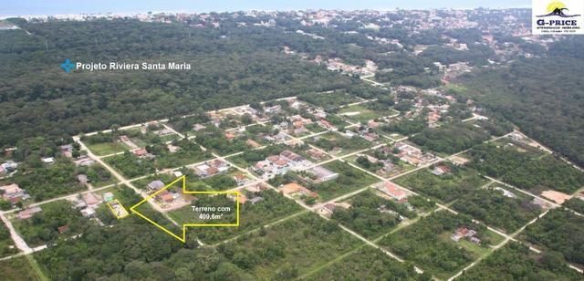 Ótimo Terreno com Casa de madeira, 409,6m², Baln Jdm Verdes Mares, Itapoá/SC - Foto 2
