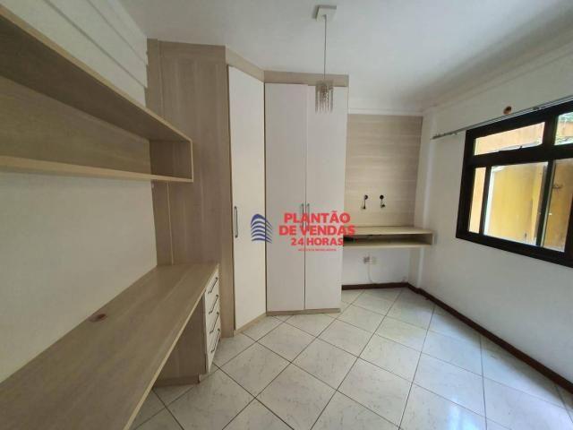 Apartamento térreo com área privativa, piscina e churrasqueira 3 quartos - Foto 9