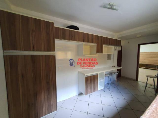 Apartamento térreo com área privativa, piscina e churrasqueira 3 quartos - Foto 12