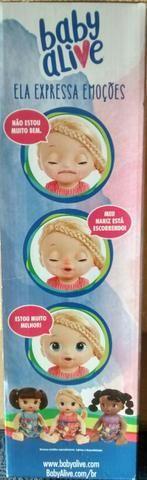 Baby alive bebê doces lágrimas - Foto 3