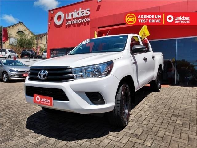 Toyota Hilux 2.8 std 4x4 cd 16v diesel 4p manual - Foto 2