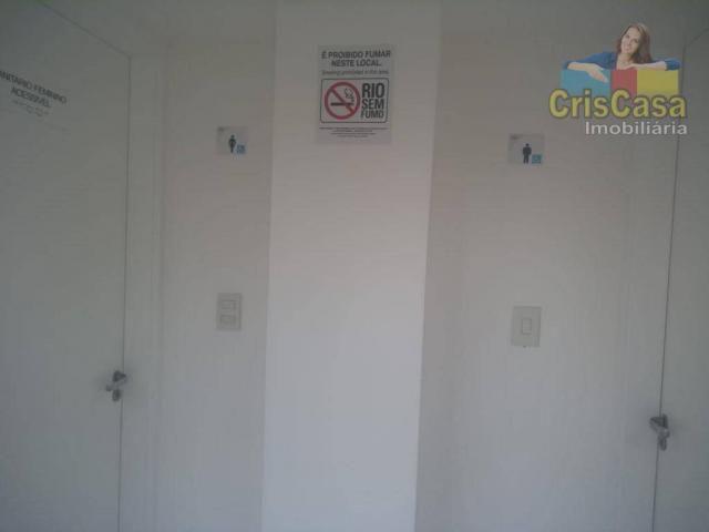 Apartamento com 3 dormitórios para alugar, 100 m² por R$ 1.500,00/mês - Costazul - Rio das - Foto 16