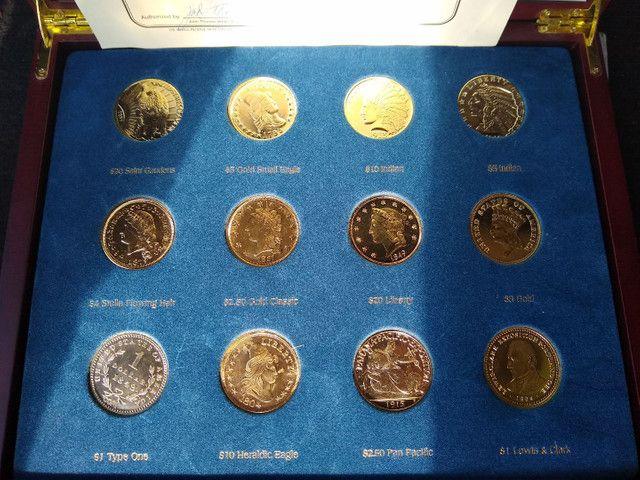 Coleção completa da moeda americanas - Foto 6