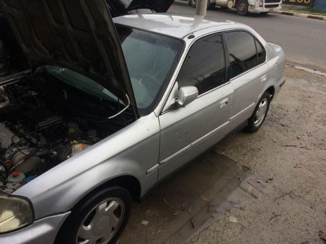 Honda Civic 1999 2000 motor 1.6 16v venda Peças - Foto 2