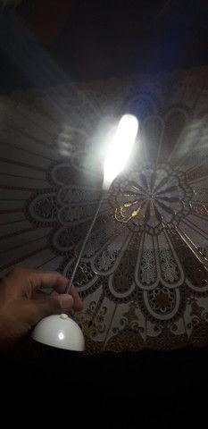 Mini luminária Led flexível - Foto 2