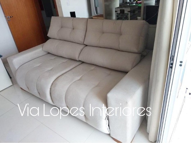 Sofa barcelona normal sobre medidas aqui na Via Lopes Interiores wpp 62 9  *