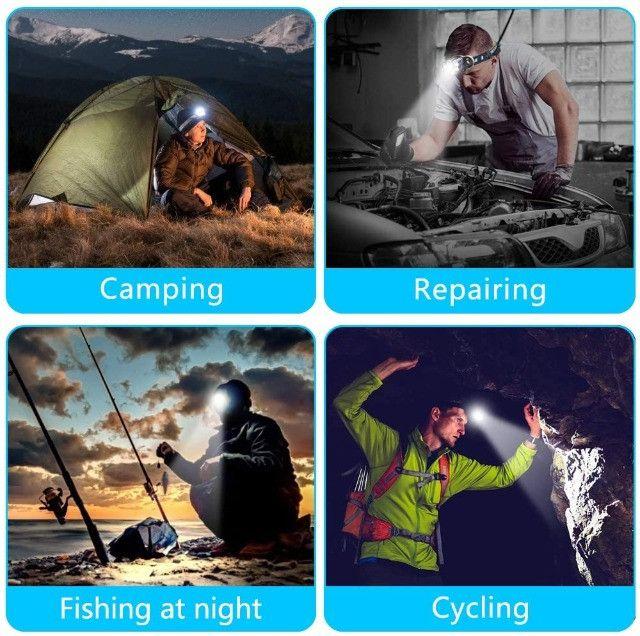 Farol Recarregável à Prova d'água para Camping, Caminhadas, ao ar livre - Foto 6