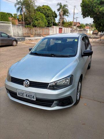 Volkswagen Novo Gol - Trend Line - 2016/2017 - Cor Prata - 4 portas - Foto 10