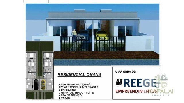 Casa com 2 dormitórios à venda, 78 m² por R$ 250.000 - Itajuba - Barra Velha/SC