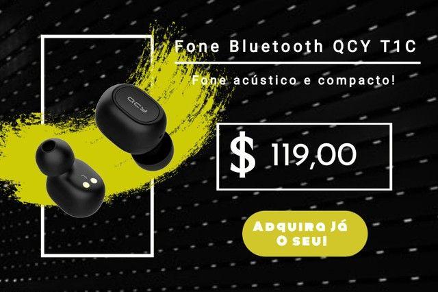 Fone de Ouvido Bluetooth T1C QCY Preto