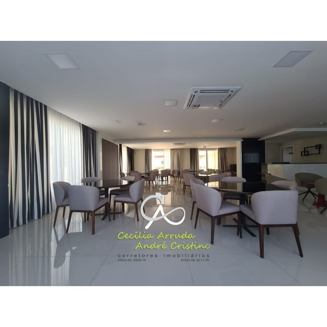 apartamento 4/4 suítes, varanda gourmet, vista livre permanente, Jardins, Aracaju/SE - Foto 17