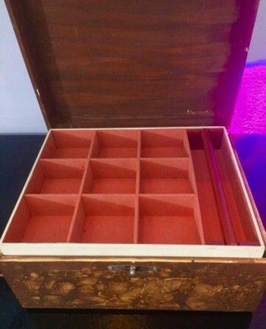 Porta joias marroquino 3 compartimentos  - Foto 5