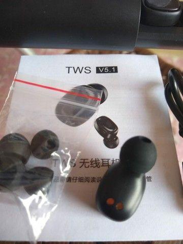 Fone de Ouvido B9 TWS sem Fio com Bluetooth 5 0 / Headset Esportivo / Headset Gamer - Foto 4