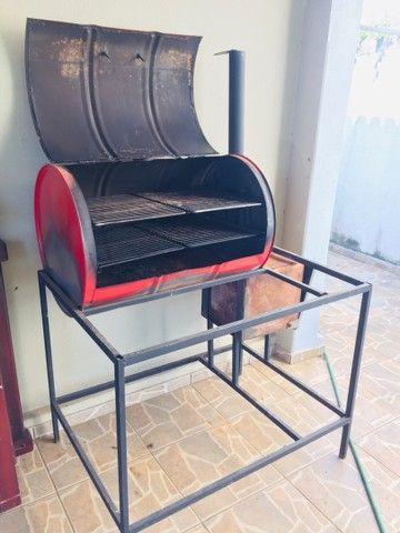 Churrasqueira, Pit smoker  - Foto 2