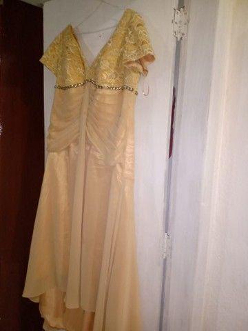 Vestido de festa pluss sise  - Foto 2