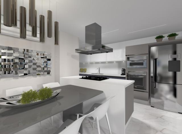 Apartamento à venda com 3 dormitórios em Centro, Guaratuba cod:0389/2021 - Foto 4