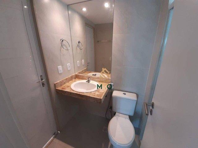 Apartamento com 3 dormitórios à venda, 73 m² por R$ 420.000,00 - Cambeba - Fortaleza/CE - Foto 9