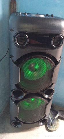 Caixa de som Multilaser Mini torre - Foto 6