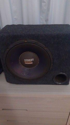 Caixa com auto falante street Bass Selenium de 12 - Foto 2