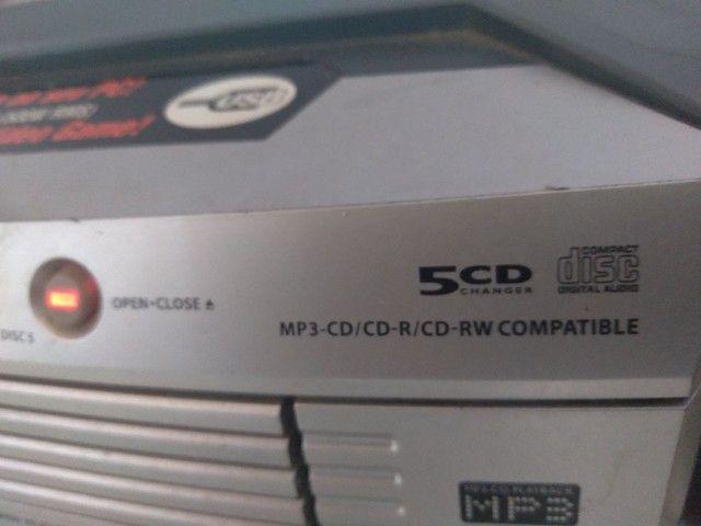 *Em Araguaina* Som Micro System Philips 500w - Foto 6