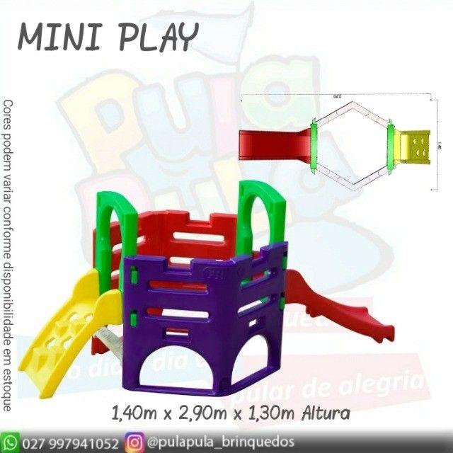 Venda Playground Petit Play com balanço colorido - Apenas por encomenda - Foto 2