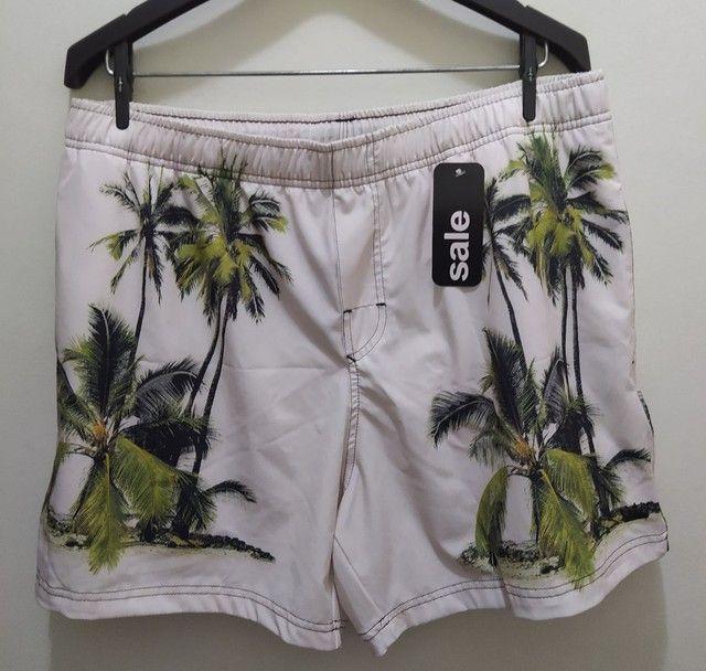 Beach Short Osklen Coqueiros - G