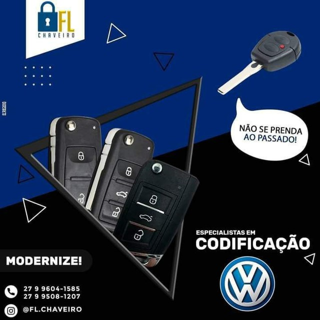 Chave Canivete VW