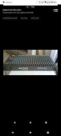 Mesa de som wattsom CMW 24 canais - Foto 4