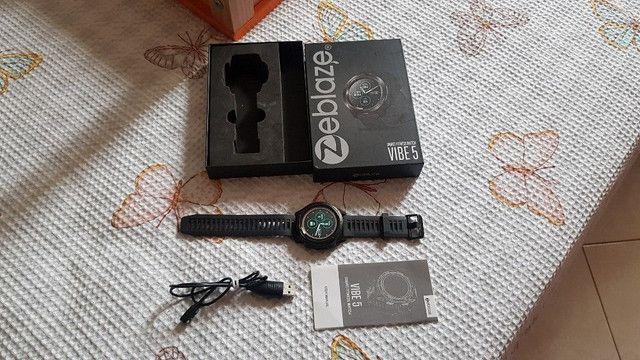 Smartwatch zeblaze vibe 5 novo