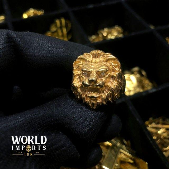 joias de moeda antiga,cor identica ao ouro 18k - Foto 3