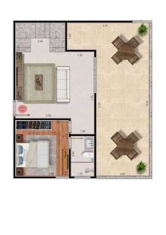 Apartamento com 2 dormitórios à venda, 74 m² por R$ 325.000,00 - Bairu - Juiz de Fora/MG - Foto 15