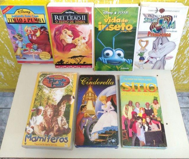 FITAS DE FILMES VHS
