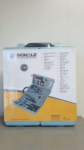 Kit de Ferramentas 135 peças Novo Schulz  - Foto 6