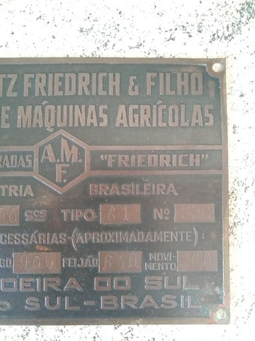 Placa de Metal Antiga - RELÍQUIA - Foto 3