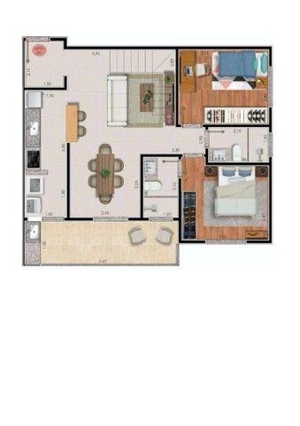 Apartamento com 2 dormitórios à venda, 74 m² por R$ 325.000,00 - Bairu - Juiz de Fora/MG - Foto 13