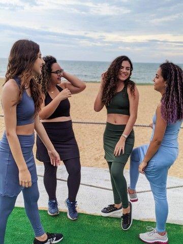 Legging com saia - Moda fitness - Foto 3
