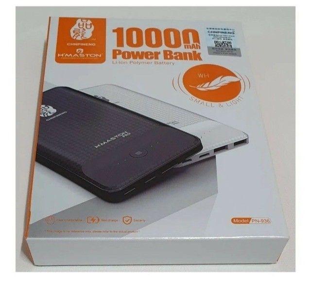 Carregador Portátil Externo Powerbank 10000mah Universal - Foto 2