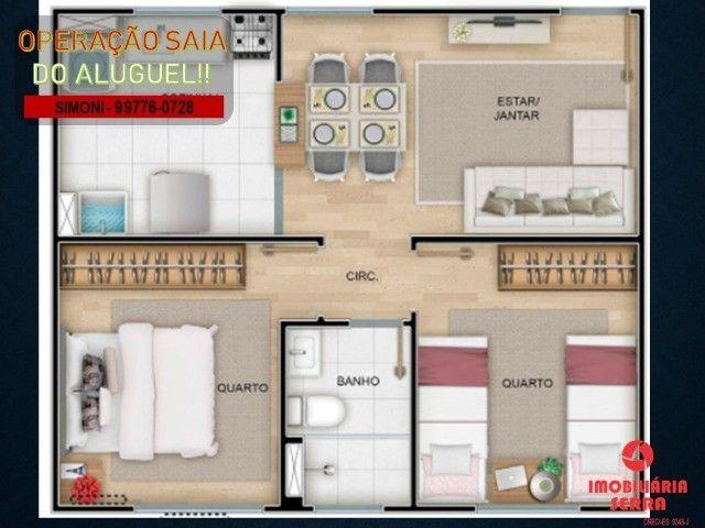 SCL [07] Lindo, Apartamento, 2 qtos, em Vila Bethânia - Foto 8