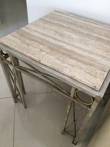Mesa lateral em mármore - Foto 3