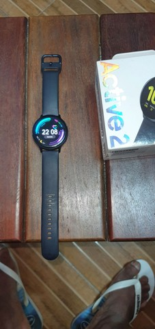 Relógio smart samsung active 2