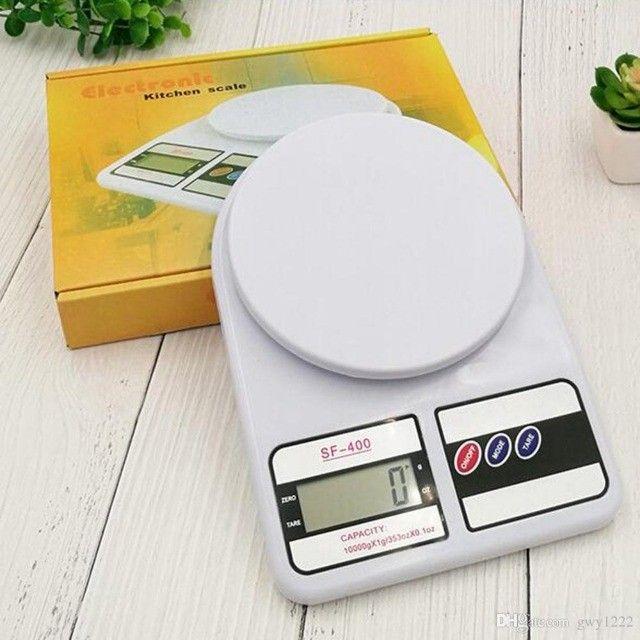 Balança Digital Cozinha 10kg Alta Precisão Alimento Dieta                            - Foto 4