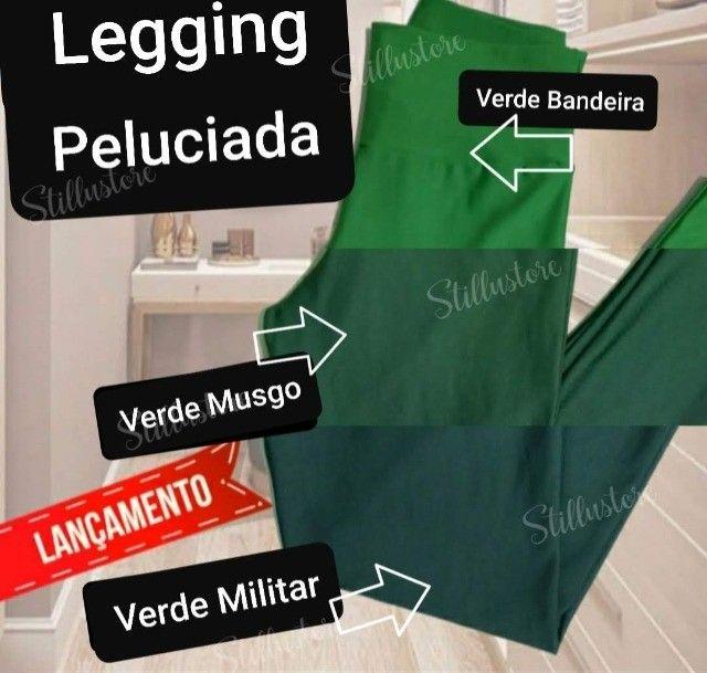 Legging Peluciada/Flanelada feminina  varias cores P ao GG e G1 ao G3 - Foto 6