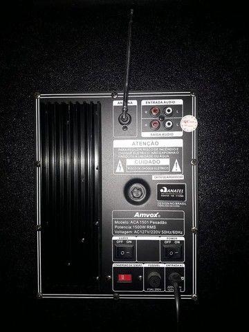 Caixa Amplificada Amvox ACA  - Foto 4