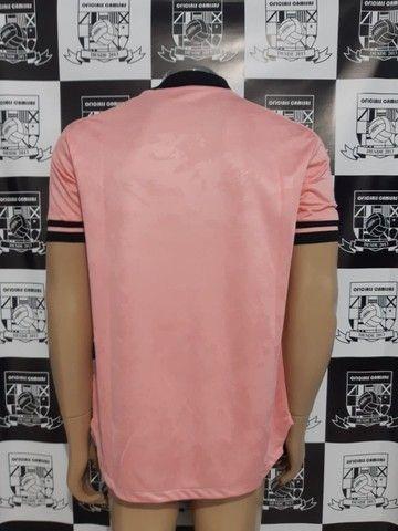 R$160,00 Camisa Inter Rosa Tam M e GG - Foto 3