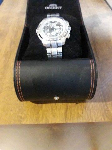 Vendo relógio orient mbssc055 - Foto 4