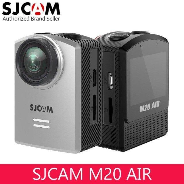 Câmera Esportiva Sjcam M20 Air Full HD preta - Foto 3